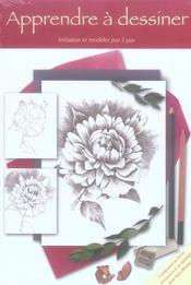 Coffret apprendre a dessiner - Intérieur - Format classique
