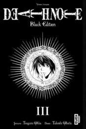Death note - black edition T.3 - Couverture - Format classique