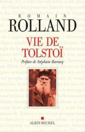 Vie de Tolstoï (édition 2010) - Couverture - Format classique