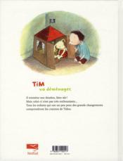 Tim et Tidou déménagent - 4ème de couverture - Format classique