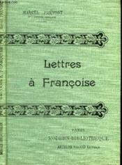 Lettres A Francoise. - Couverture - Format classique