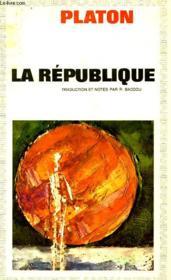 La Republique - Couverture - Format classique