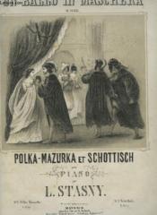 Un Ballo In Maschera - Scottisch Pour Piano. - Couverture - Format classique