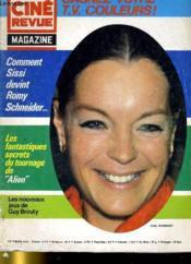 Cine Revue - Magazine - N° 12 - L'Evade D'Alcatraz - Couverture - Format classique