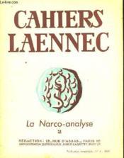 Cahiers Laennec N°4 Decembre 1949 - La Narco-Analyse N°2 - Couverture - Format classique