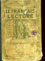 Le Francais Par La Lecture - Couverture - Format classique