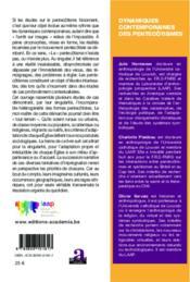 Dynamiques contemporaines des pentecotismes - Couverture - Format classique