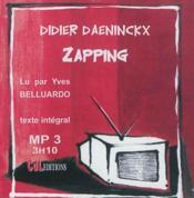 Zapping - Couverture - Format classique