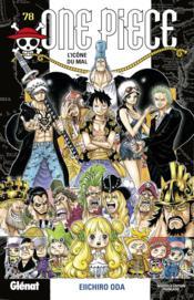 One Piece - édition originale T.78 ; l'icône du mal - Couverture - Format classique