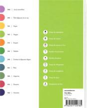 Le grand livre Marabout de la cuisine green ; 475 recettes pour manger sain et bon toute l'année - 4ème de couverture - Format classique