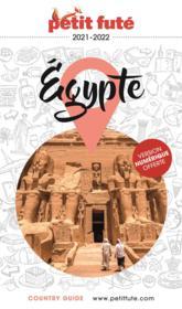 GUIDE PETIT FUTE ; COUNTRY GUIDE ; Egypte (édition 2021/2022) - Couverture - Format classique