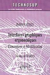 Interfaces Graphiques Ergonomiques Conception Et Modelisation - Intérieur - Format classique