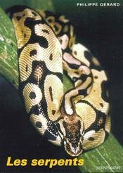 Serpents - Intérieur - Format classique