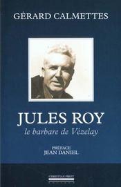 Jules roy - Intérieur - Format classique