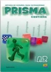 Prisma A2 Continua Libro Del Alumno - Couverture - Format classique