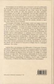 Vauvenargues ou le séditieux ; entre Pascal et Spinoza ; une philosophie pour la seconde nature - 4ème de couverture - Format classique