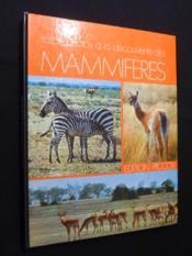 Safari photo à la découverte des mammifères - Couverture - Format classique