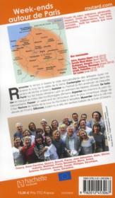 Guide Du Routard ; Week-Ends Autour De Paris (Edition 2012/2013) - 4ème de couverture - Format classique