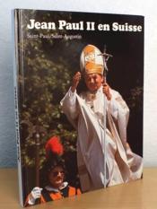 Jean Paul II en Suisse - Couverture - Format classique