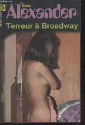 Collection La Poche Noire. N° 156 Terreur De Broadway. - Couverture - Format classique