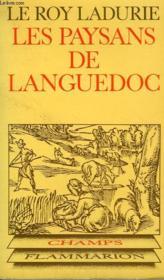 Les Paysans De Languedoc. Collection Champ N° 7 - Couverture - Format classique