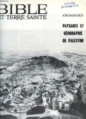 Bible Et Terre Sainte, N° 145, Nov. 1972 - Couverture - Format classique