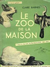 Le Zoo De La Maison - Couverture - Format classique
