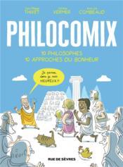 Philocomix ;10 philosophes 10 approches du bonheur - Couverture - Format classique