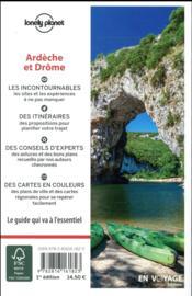 Ardèche et Drôme - 4ème de couverture - Format classique