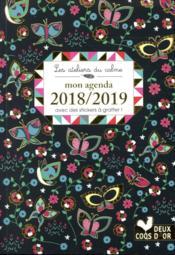 Les ateliers du calme ; mon agenda ; avec des stickers à gratter (édition 2018/2019) - Couverture - Format classique