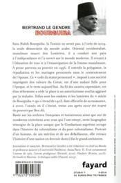 Bourguiba - 4ème de couverture - Format classique