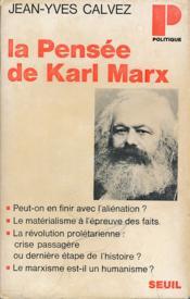 La pensée de Karl Marx - Couverture - Format classique