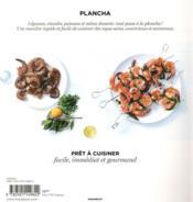 Plancha ; prêt à cuisiner - 4ème de couverture - Format classique