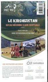 GUIDE PETIT FUTE ; COUNTRY GUIDE ; Kirghizistan (édition 2020/2021) - 4ème de couverture - Format classique