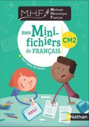 Méthode heuristique de français ; CM2 ; mini fichier élève (édition 2020) - Couverture - Format classique