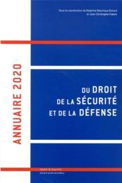 Annuaire 2020 du droit de la sécurité et de la défense - Couverture - Format classique