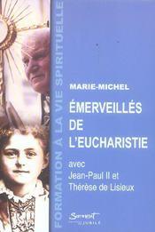 Emerveilles de l'eucharistie - Intérieur - Format classique