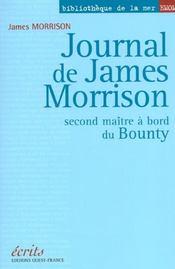 Journal de James Morrison ; second maître à bord du Bounty - Intérieur - Format classique