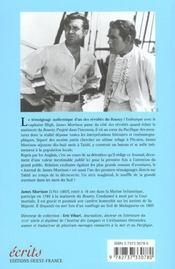 Journal de James Morrison ; second maître à bord du Bounty - 4ème de couverture - Format classique