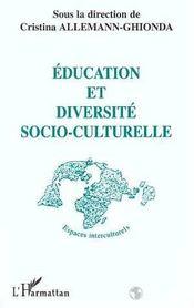 Education Et Diversite Socio-Culturelle - Intérieur - Format classique