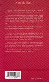 Nerf De Boeuf - 4ème de couverture - Format classique
