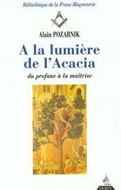 Lumiere De L'Acacia (A La) - Intérieur - Format classique