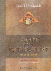 L'alchimie dans la franc-maçonnerie - Intérieur - Format classique