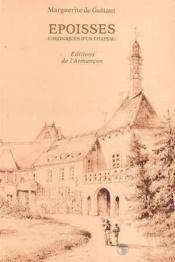 Epoisses chroniques d'un chateau - Couverture - Format classique