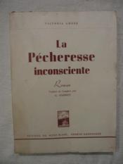 La pécheresse inconsciente - Couverture - Format classique