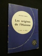 Les origines de l'Homme - Couverture - Format classique
