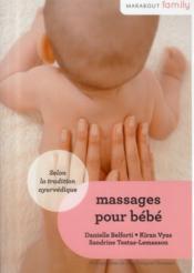 Massages pour bébés - Couverture - Format classique