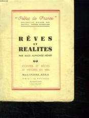 Reves Et Realites. Contes Et Recits 30 Histoires En Vers. - Couverture - Format classique