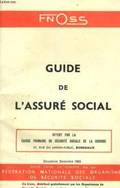 Guide De L'Assure Social - Fnoss - Couverture - Format classique