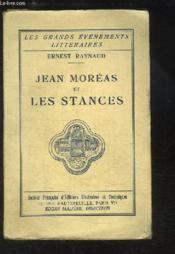 Jean Moréas et les Stances. - Couverture - Format classique
